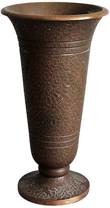 One Kings Lane Vintage Early Chinese Bronze Vase - Faded Rose Antiques LLC