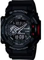 Casio Mens G-Shock Alarm Chronograph Watch GA-400-1BER
