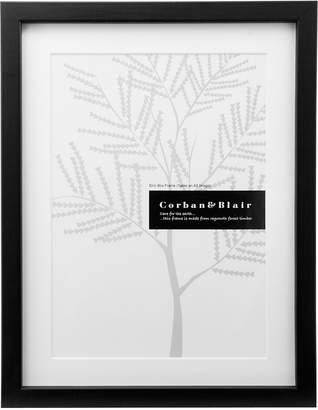 Corban & Blair Slim Box Frame with Mat, A3, Black
