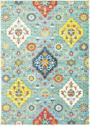 "Jhb Design Closeout! Jhb Design Vibe Persian Garden 2'3"" x 7'6"" Runner Rug"