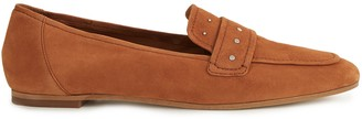 Reiss ELBA SUEDE LOAFERS Tan