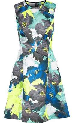 Erdem Floral-Print Satin Dress