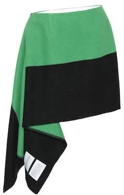Calvin Klein Wool and cotton skirt