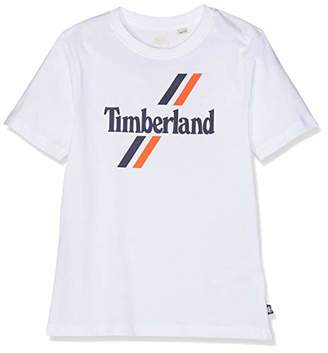 Timberland Boy's Tee-Shirt Manches Courtes T,(Size: 14A)