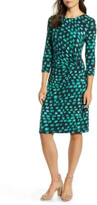 Nic+Zoe Vivid Twist Detail Dress