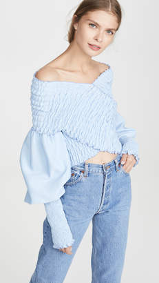 N. DUO Off Shoulder Top