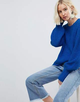 Vero Moda Knitted Sweater With Cuff Details