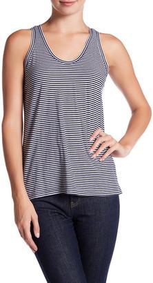 SUSINA Striped Shirred Back Tank $12.97 thestylecure.com