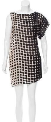 Elise Overland Polka Dot Mini Dress
