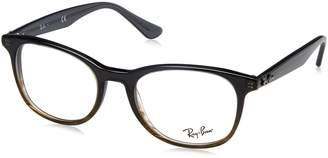 Ray-Ban Women's 0RX 5356 5766 52 Optical Frames Gradient Striped Grey