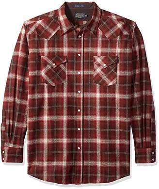 Pendleton Men's Big and Tall Long Sleeve Canyon Shirt