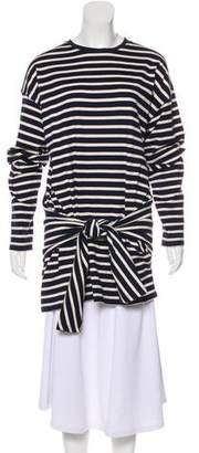 J.W.Anderson Striped Long Sleeve Top