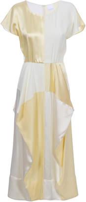 BEVZA Two Colors Dress