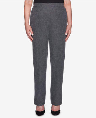 Alfred Dunner Finishing Touches Marled Pull-On Pants