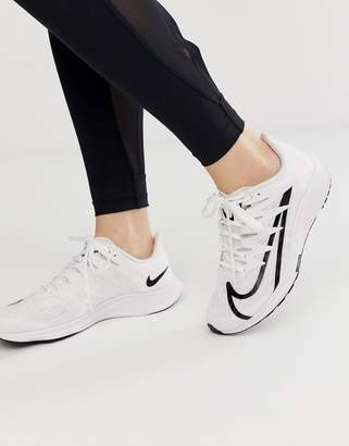 premium selection b4d76 f3ac0 Nike Running Zoom Rival Fly Trainers In White