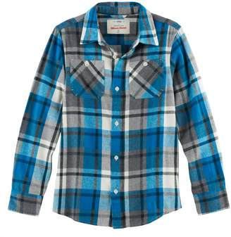 Boys 8-20 Urban Pipeline Ultimate Regular-Fit 2-Pocket Flannel Button-Down Shirt