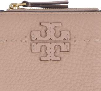 Tory Burch Mcgraw Mini Leather Wallet