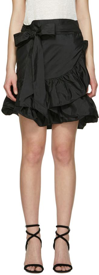 Isabel MarantIsabel Marant Black Aurora Miniskirt