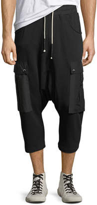 Mostly Heard Rarely Seen Men's Lullaby Drop-Crotch Jogger Pants