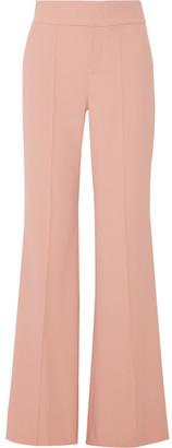 Alice + Olivia Dawn Crepe Wide-leg Pants - Antique rose
