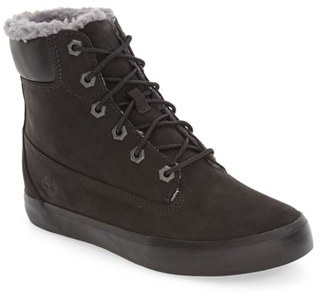 Women's Timberland Flannery Hidden Wedge Faux Fur Lined Boot $119.95 thestylecure.com