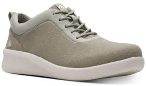 Clarks Women's CloudSteppers Sillian 2.0 Pace Wedge Sneakers Women's Shoes
