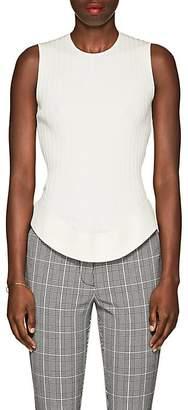 Esteban Cortazar Women's Cutout-Back Rib-Knit Top