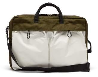 Co Porter Yoshida & Porter-yoshida & Hype 3 Way Briefcase - Mens - White Multi