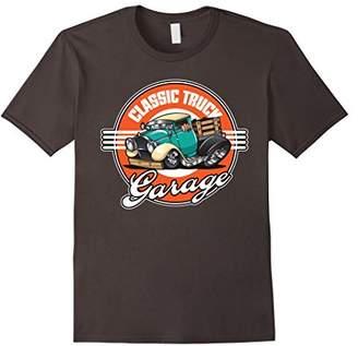 Classic Truck Garage Hot Rod T-Shirt