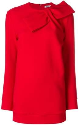 P.A.R.O.S.H. bow sweatshirt dress