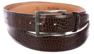Pal Zileri Crocodile Dress Belt