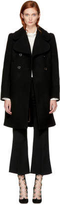 Chloé Black Short Double-Breasted Coat