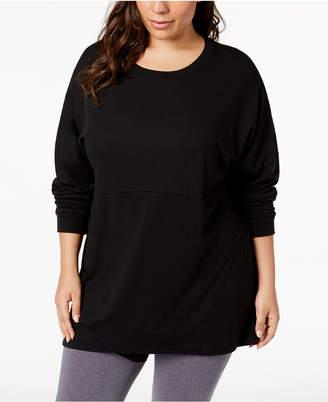 Soffe Curves Plus Size Long-Sleeve T-Shirt