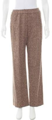 Oscar de la Renta High-Rise Tweed Pants w/ Tags