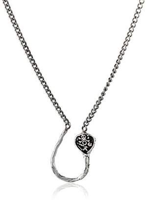 Pyrrha Vanity Sterling Charm Holder Pendant Necklace