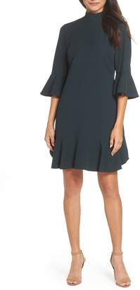 Chelsea28 Ruffle Sleeve Shift Dress