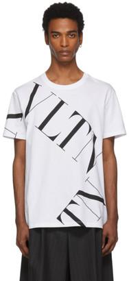 Valentino White VLTN Macro T-Shirt