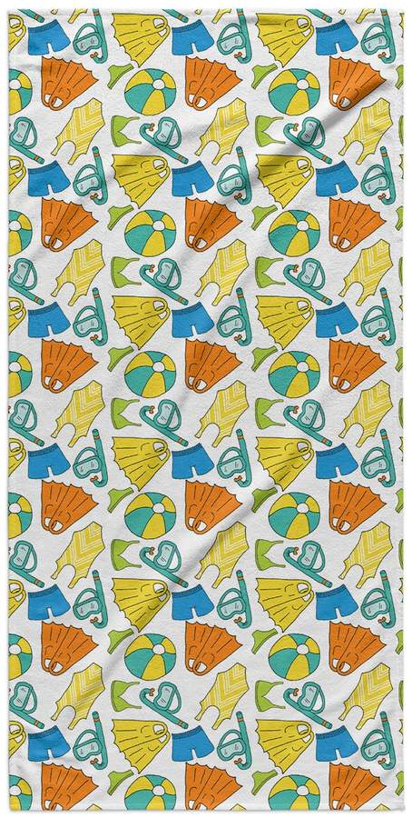Kavka Designs Swimming Beach Towel
