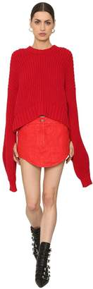 Zadig & Voltaire Zadig&voltaire Rib Knit Sweater W/ Extra Long Sleeves