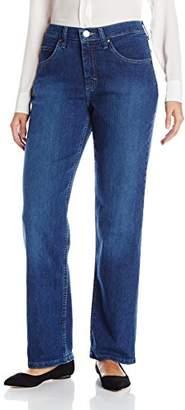 Lee Indigo Women's Classic-Fit Straight-Leg Jean