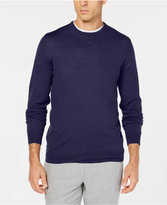 Tasso Elba Men's Merino Wool Sweater