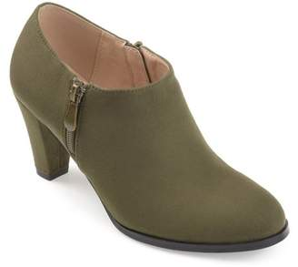 95183e0a41e1 Brinley Co. Women s Faux Suede Low-cut Comfort-sole Ankle Booties