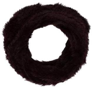 Adrienne Landau Knitted Fur Snood