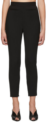 Alexander McQueen Black Skinny High Waisted Trousers