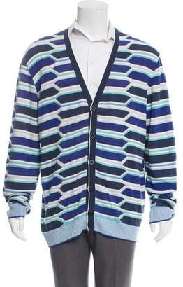 Missoni Patterned Button-Up Cardigan