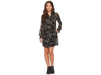 Lucky Brand Marble Print Dress Women's Dress