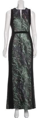 J. Mendel Jacquard Evening Dress