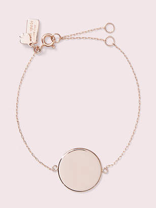 Kate Spade Demi Fine Round Line Bracelet, Rose Gold