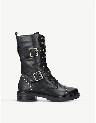 Kurt Geiger London Sting leather boots