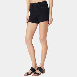 Paige Margot High-Rise Short in Vintage Black